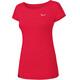 Salewa Puez Melange Dry Shortsleeve Shirt Women red